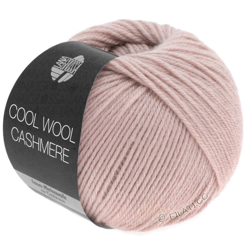 Lana Grossa COOL WOOL Cashmere | 17-rose poudré