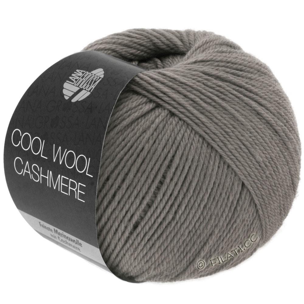 Lana Grossa COOL WOOL Cashmere | 19-brun gris