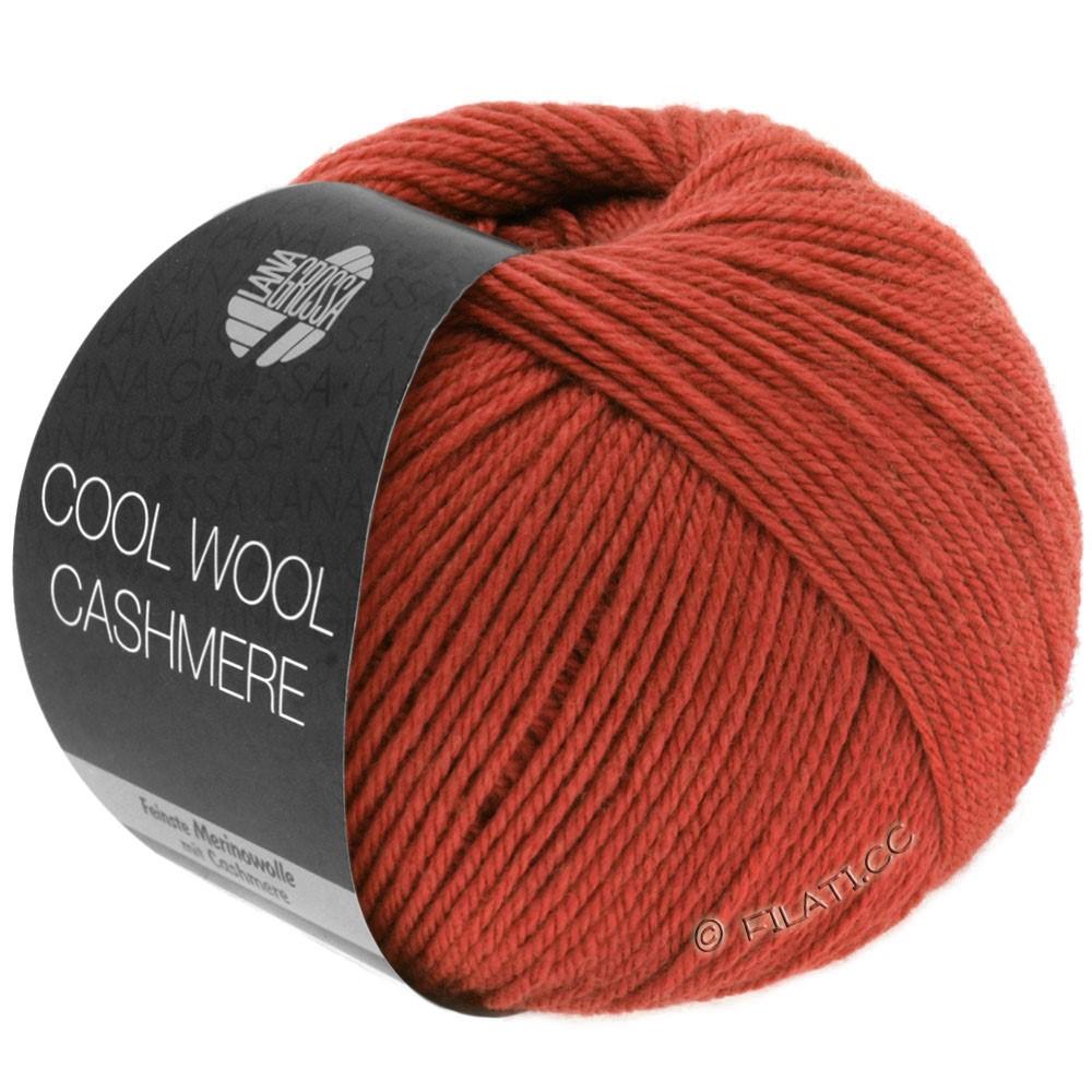 Lana Grossa COOL WOOL Cashmere | 21-rouge brique