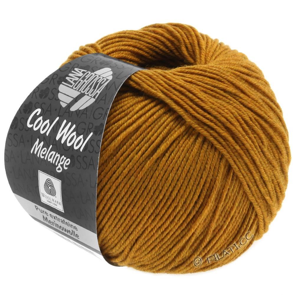 Lana Grossa COOL WOOL  Uni/Melange/Print/Degradé/Neon | 0143-ambre chiné