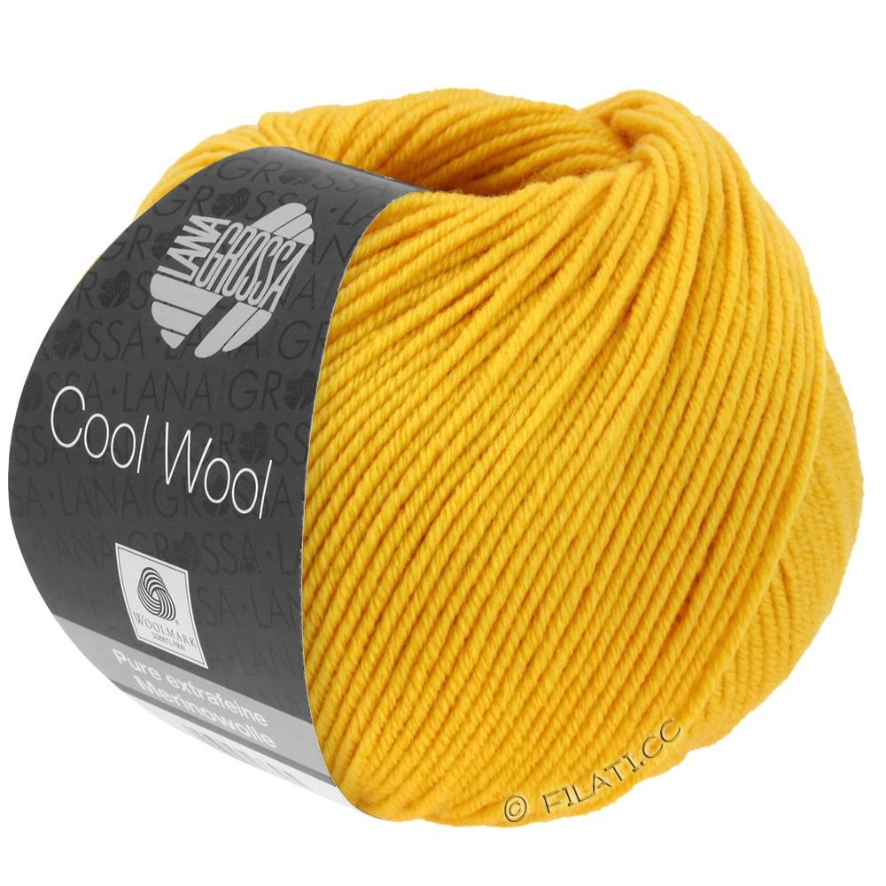Lana Grossa COOL WOOL  Uni/Melange/Print/Degradé/Neon | 2005-jaune doré