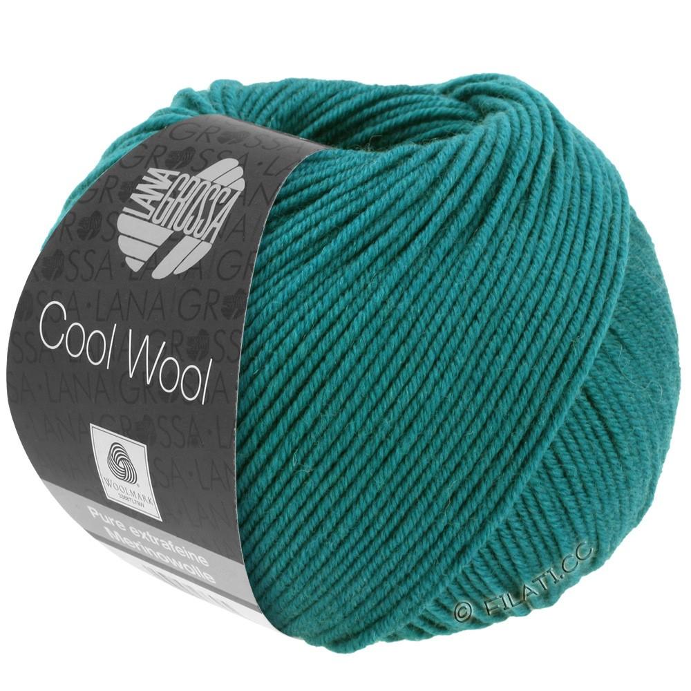 Lana Grossa COOL WOOL  Uni/Melange/Print/Degradé/Neon | 2015-vert pétrole