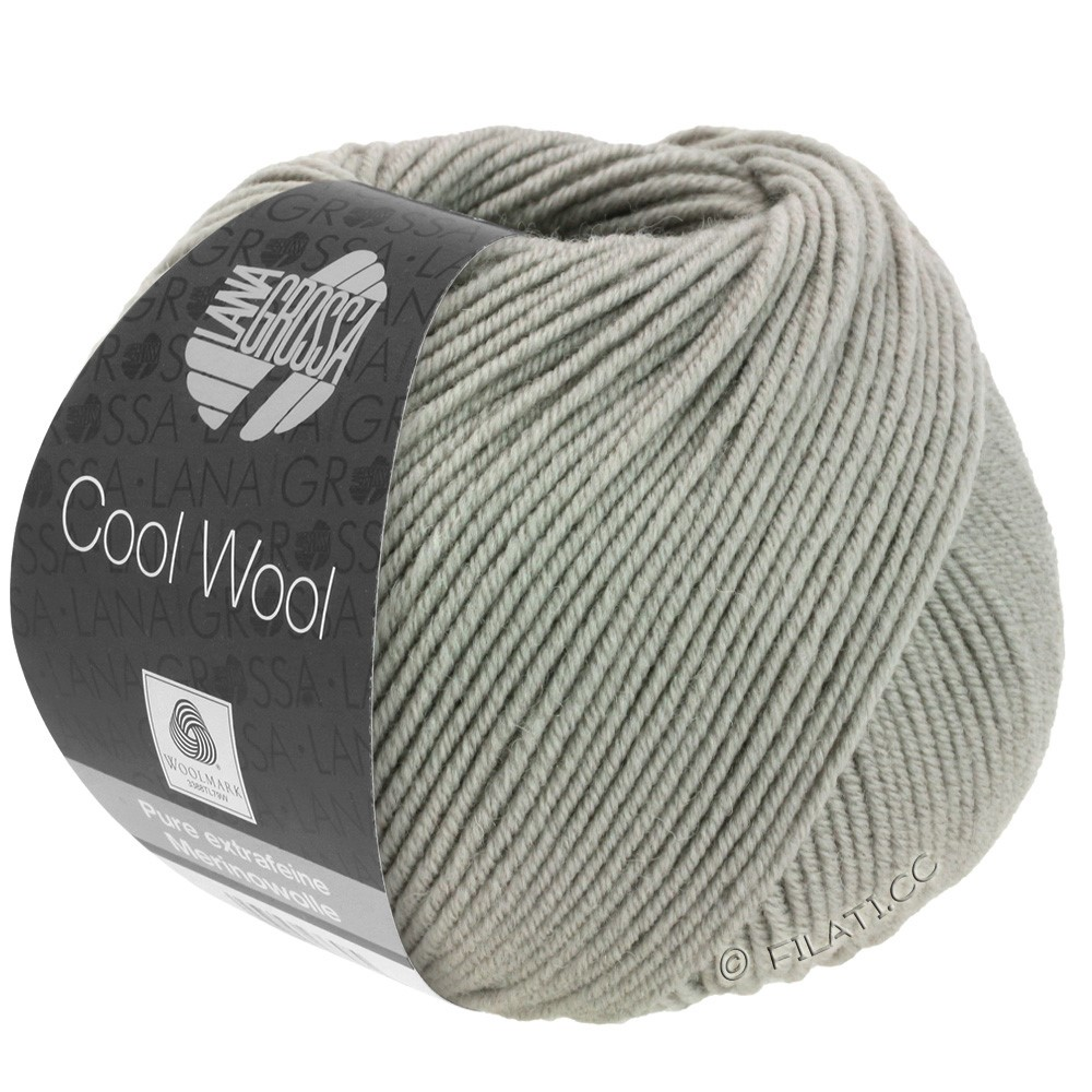 Lana Grossa COOL WOOL  Uni/Melange/Print/Degradé/Neon | 2027-grège