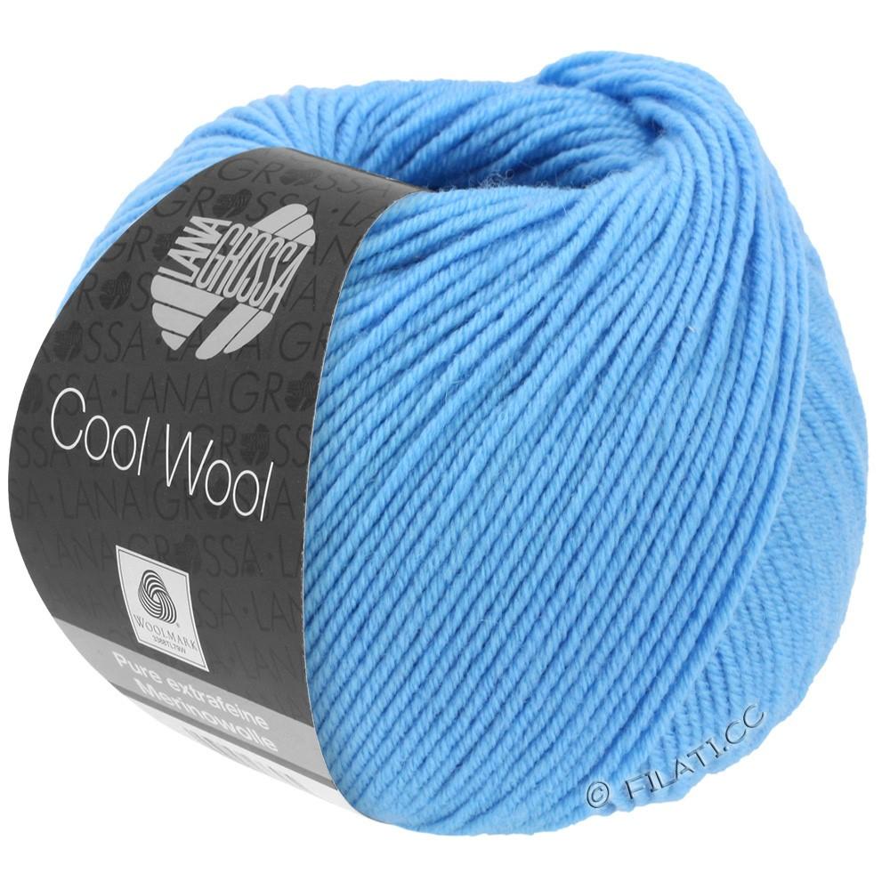 Lana Grossa COOL WOOL  Uni/Melange/Print/Degradé/Neon | 2031-bleu ciel