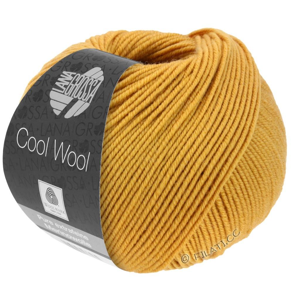 Lana Grossa COOL WOOL  Uni/Melange/Print/Degradé/Neon | 2035-jaune miel