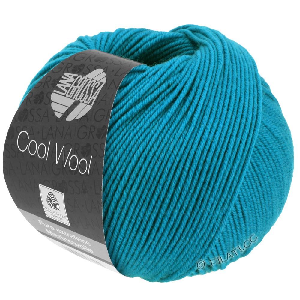 Lana Grossa COOL WOOL  Uni/Melange/Print/Degradé/Neon | 2036-bleu azur