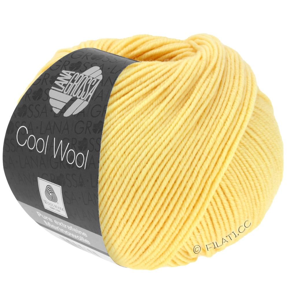 Lana Grossa COOL WOOL  Uni/Melange/Print/Degradé/Neon | 0411-vanille