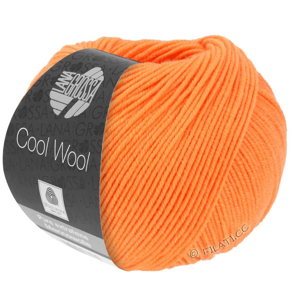 Lana Grossa COOL WOOL  Uni/Melange/Print/Degradé/Neon | 0418-mandarine