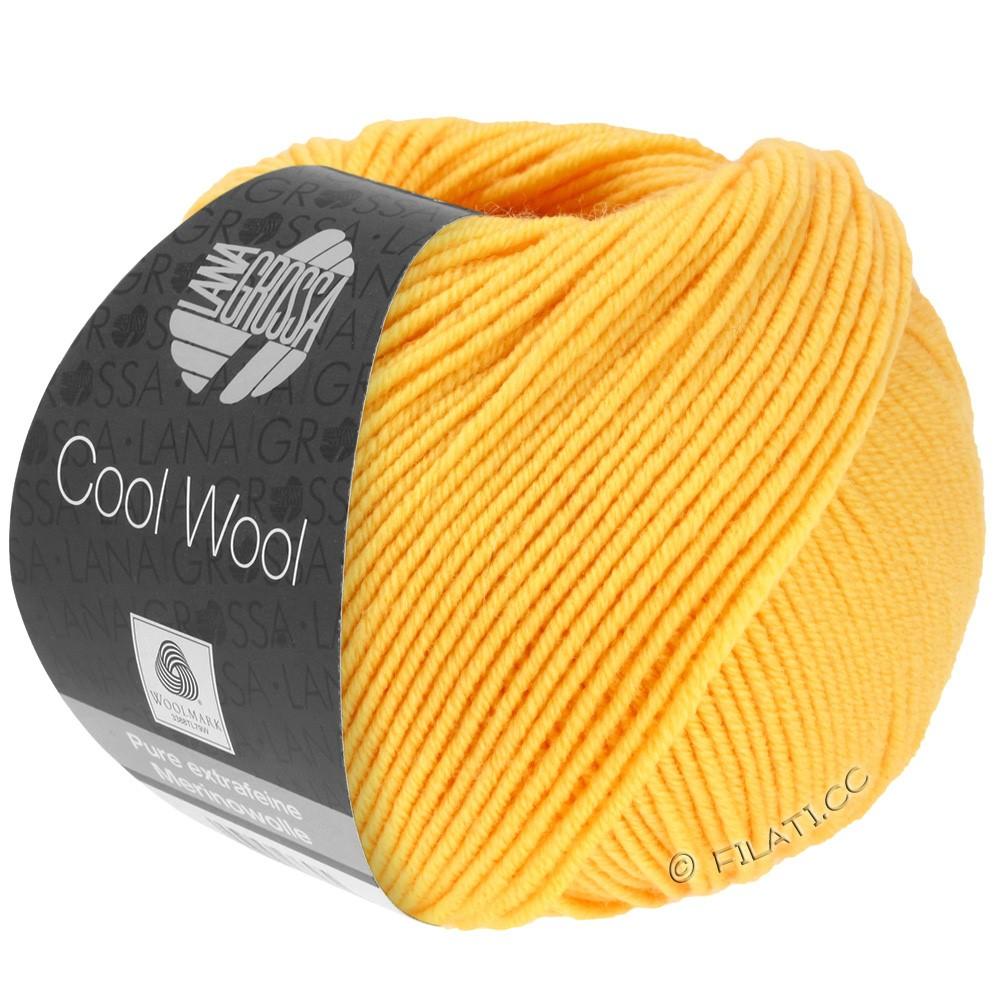 Lana Grossa COOL WOOL  Uni/Melange/Print/Degradé/Neon | 0419-jaune