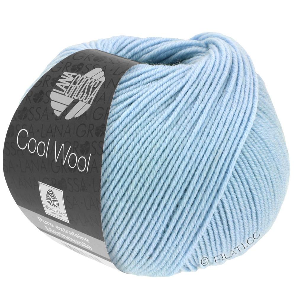 Lana Grossa COOL WOOL  Uni/Melange/Print/Degradé/Neon | 0430-bleu ciel