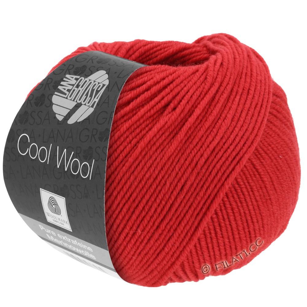 Lana Grossa COOL WOOL  Uni/Melange/Print/Degradé/Neon | 0437-rouge carmin