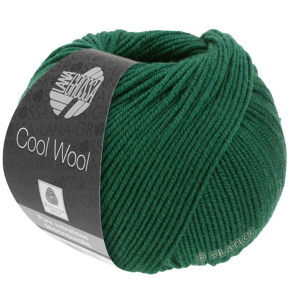 Lana Grossa COOL WOOL  Uni/Melange/Print/Degradé/Neon | 0501-vert bouteille
