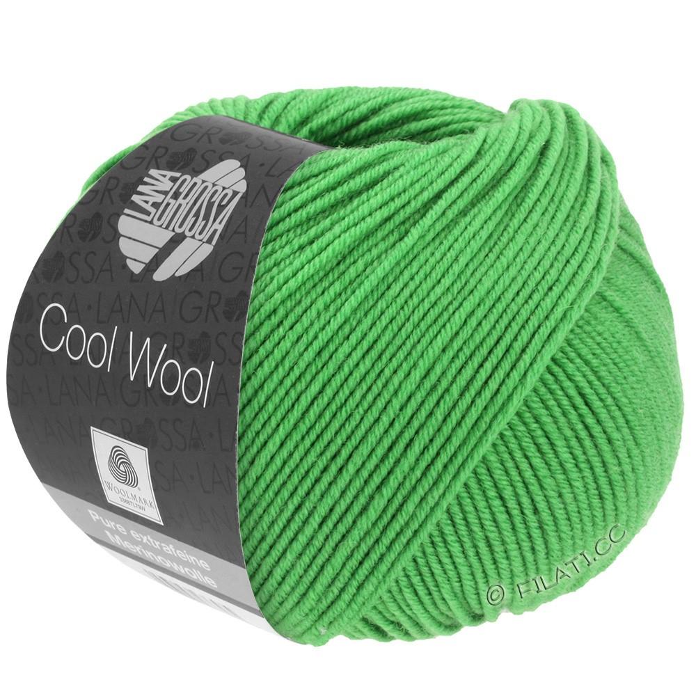 Lana Grossa COOL WOOL  Uni/Melange/Print/Degradé/Neon | 0504-pomme verte