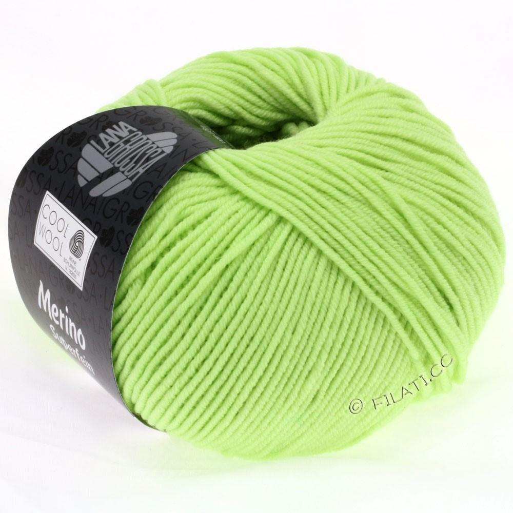 Lana Grossa COOL WOOL  Uni/Melange/Print/Degradé/Neon | 0540-vert pâle