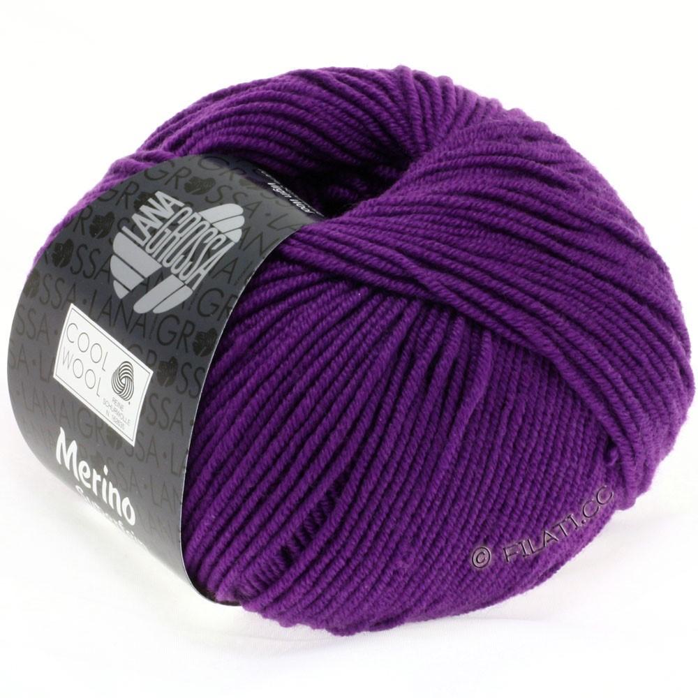 Lana Grossa COOL WOOL  Uni/Melange/Print/Degradé/Neon | 0547-violet rouge