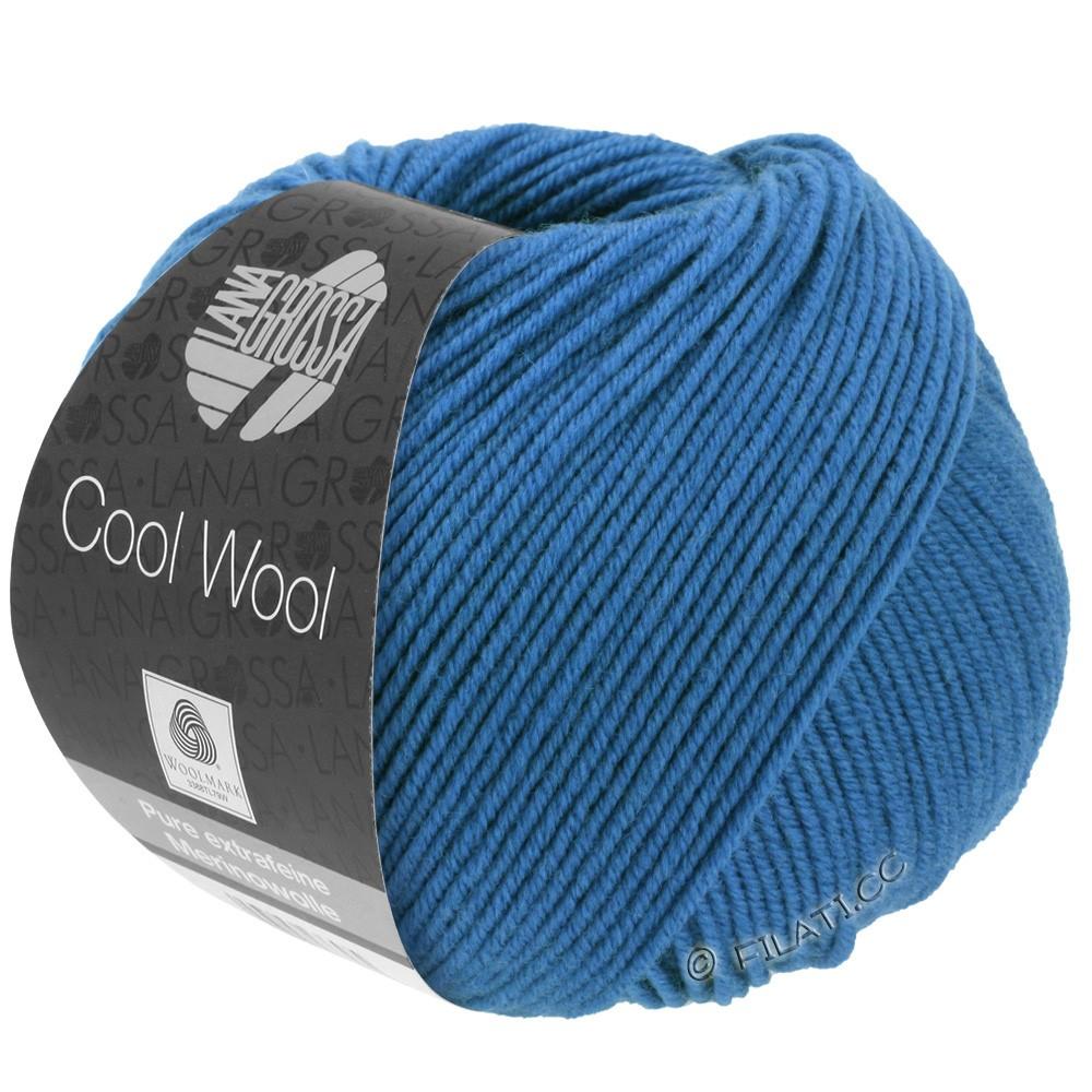 Lana Grossa COOL WOOL  Uni/Melange/Print/Degradé/Neon | 0555-bleu cobalt