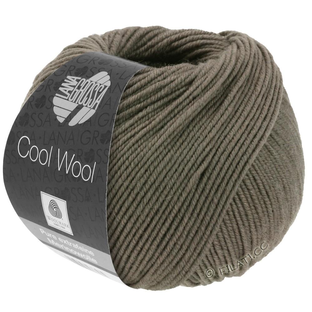 Lana Grossa COOL WOOL  Uni/Melange/Print/Degradé/Neon | 0558-brun gris