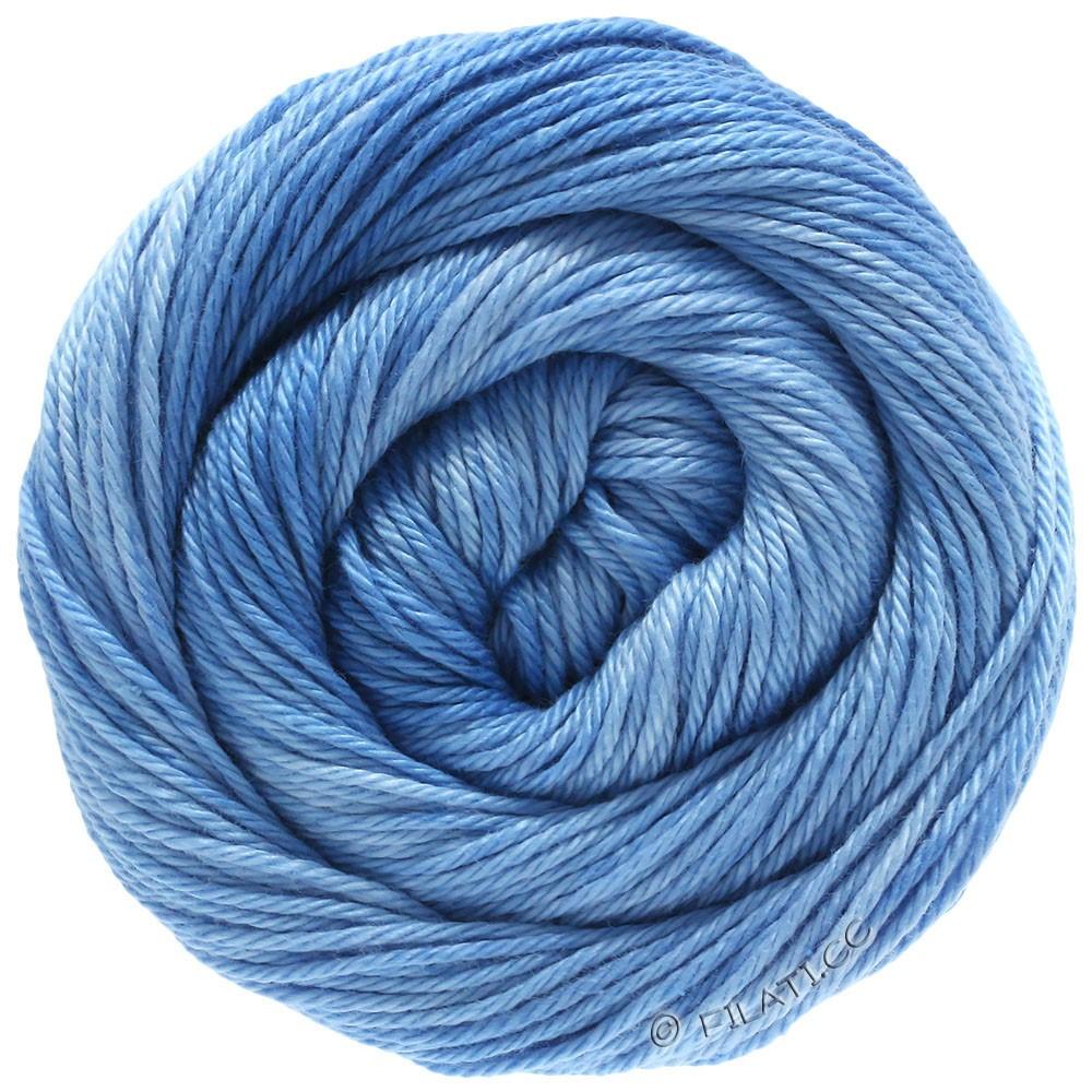 Lana Grossa COTONE Degradé | 208-bleu clair/bleu ciel/bleu