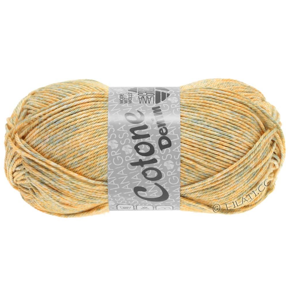 Lana Grossa COTONE  Print/Denim | 706-beige/gris tendre