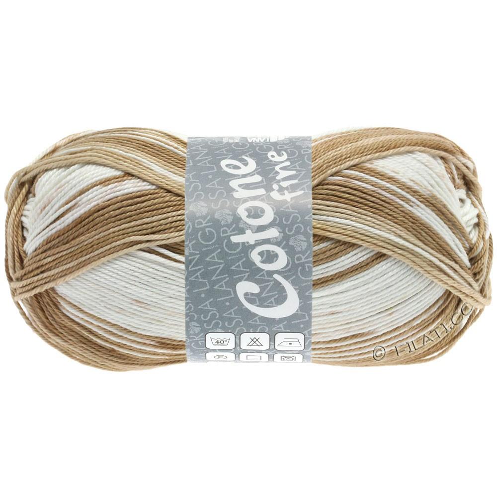 Lana Grossa COTONE FINE Print | 808-beige clair/sable/nougat