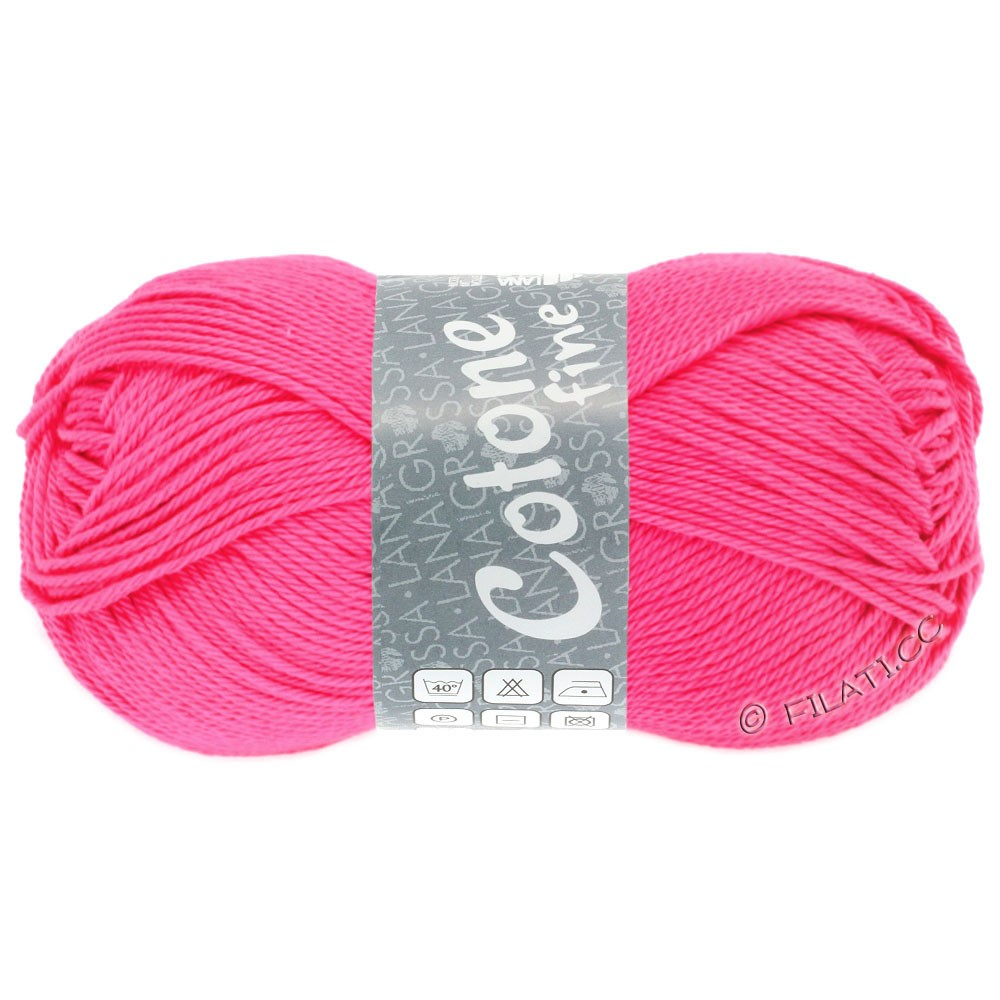 Lana Grossa COTONE FINE | 603-rose vif