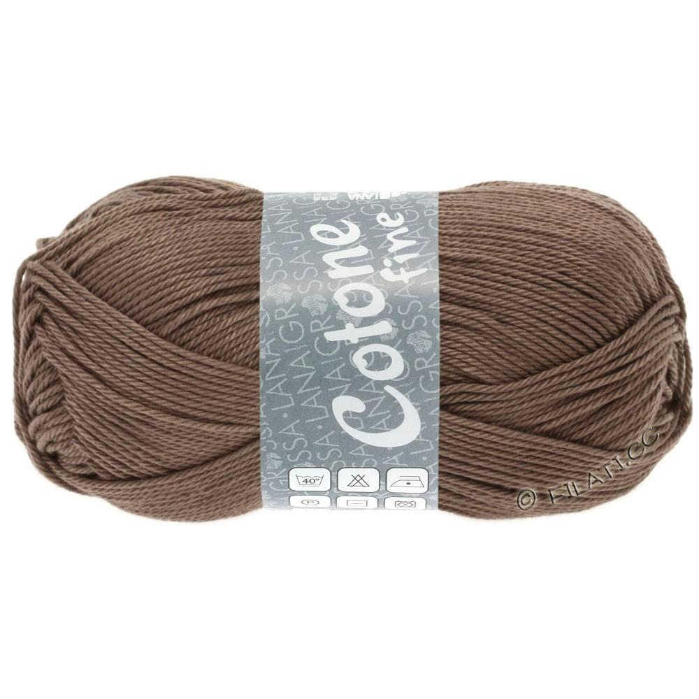 Lana Grossa COTONE FINE | 630-brun gris