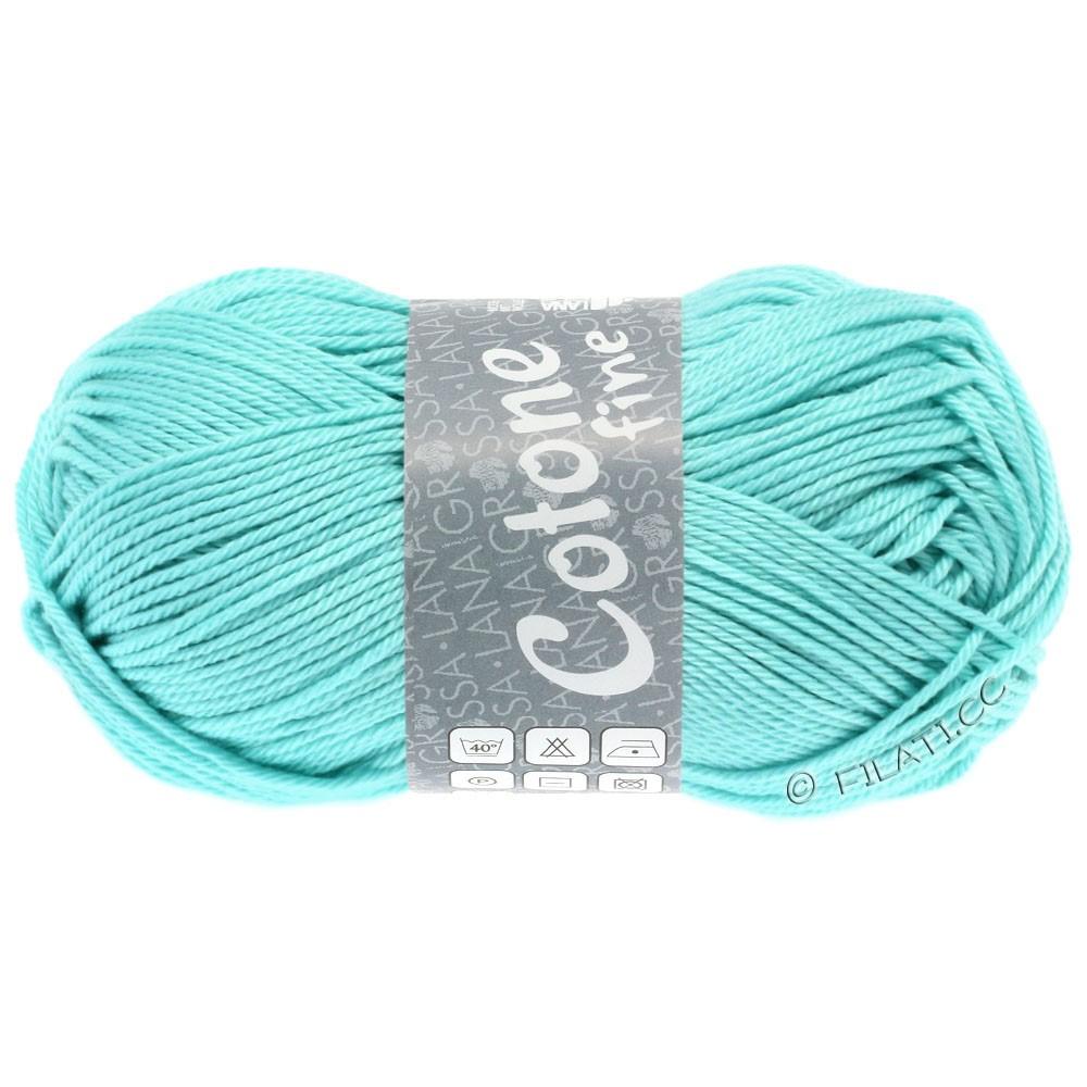 Lana Grossa COTONE FINE | 635-turquoise clair