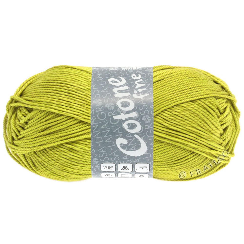 Lana Grossa COTONE FINE | 653-moutarde