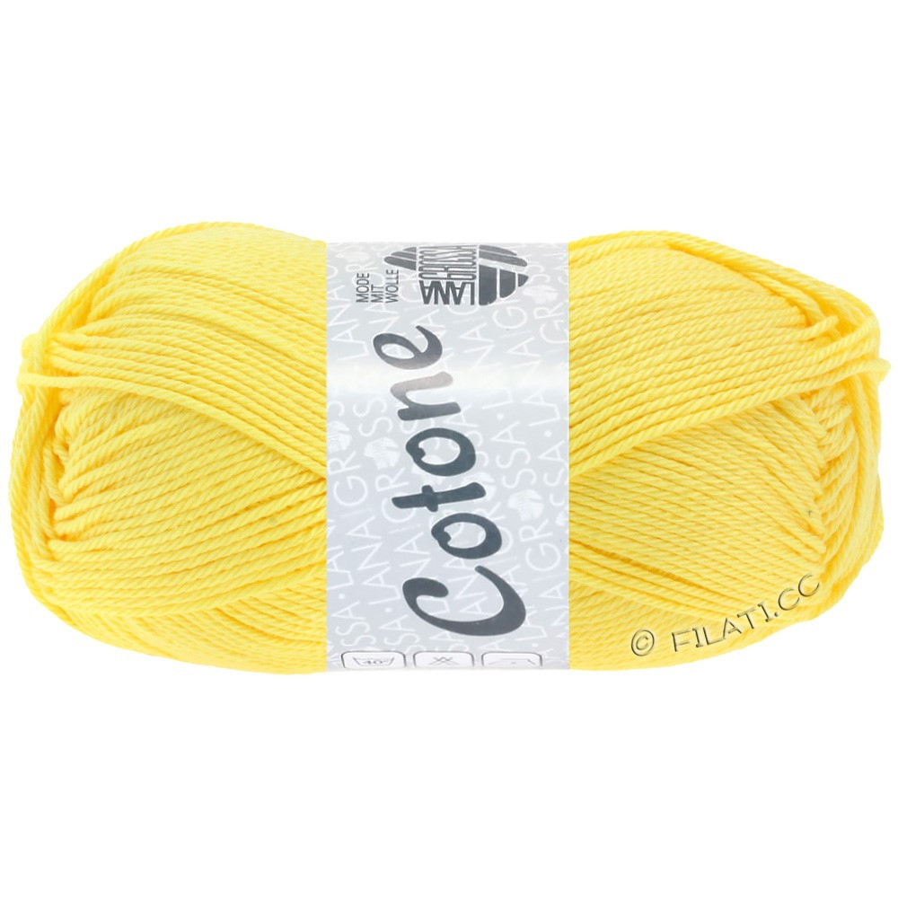Lana Grossa COTONE | 16-jaune