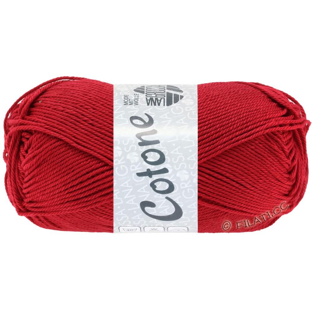Lana Grossa COTONE | 18-rouge
