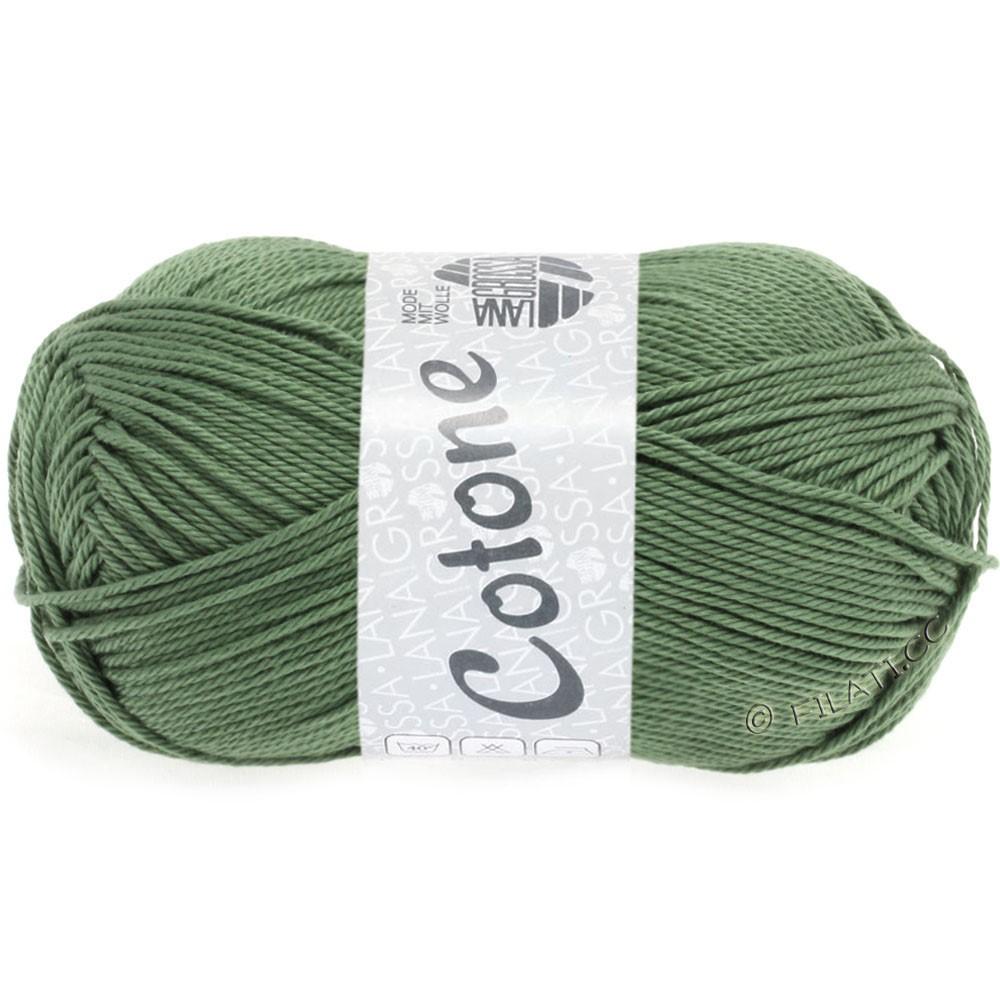 Lana Grossa COTONE | 48-gris vert