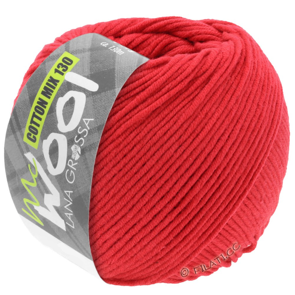Lana Grossa COTTON MIX 130 (McWool) | 103-rouge