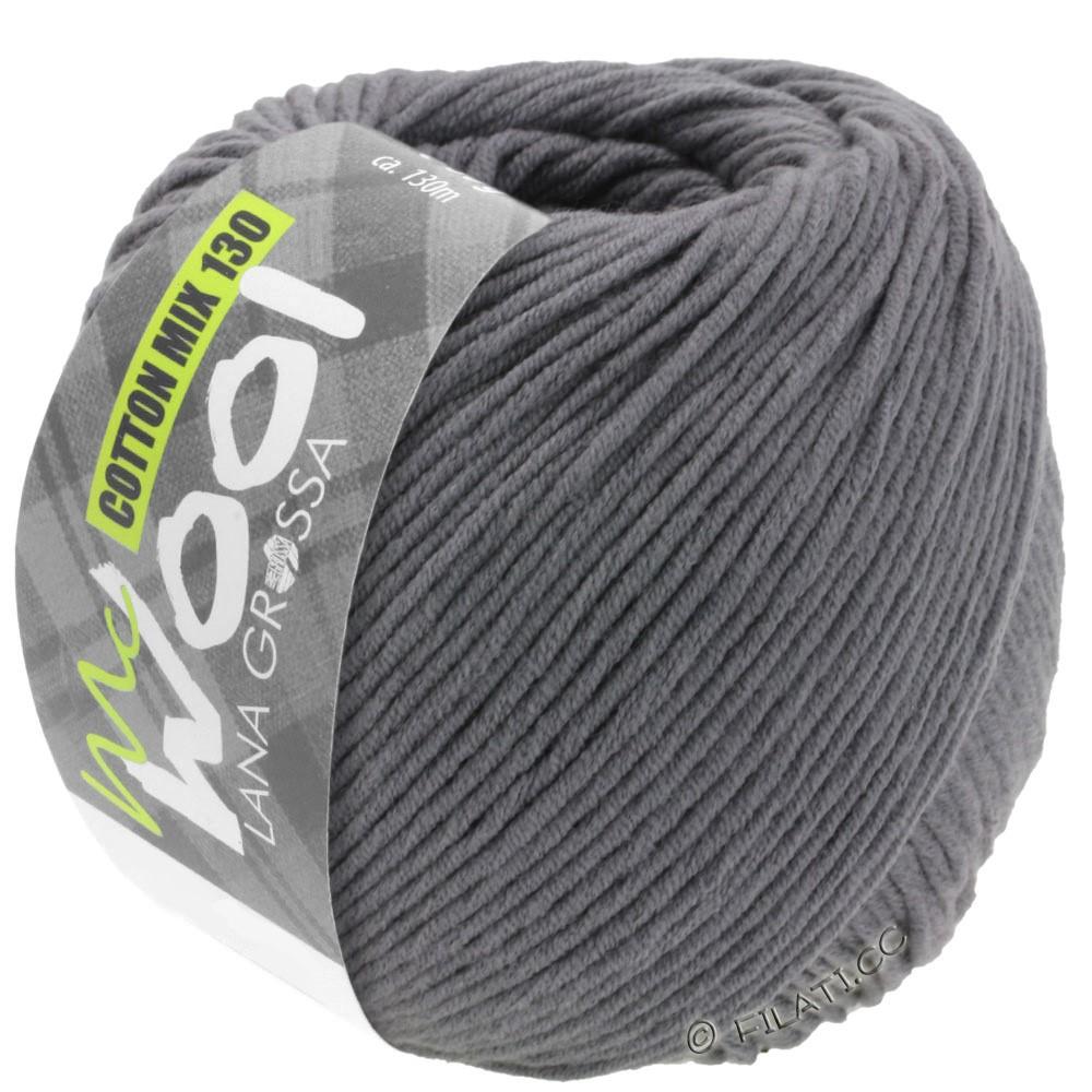 Lana Grossa COTTON MIX 130 (McWool) | 115-gris foncé