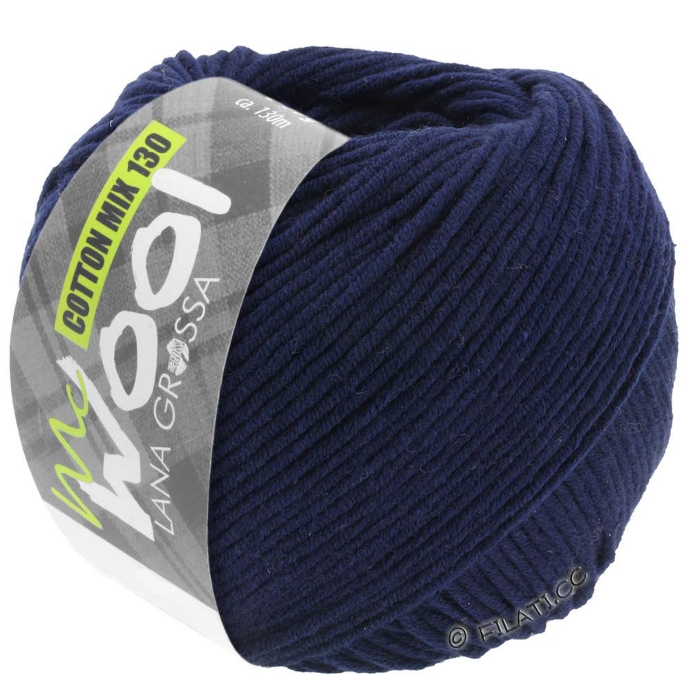 Lana Grossa COTTON MIX 130 (McWool) | 117-bleu nuit