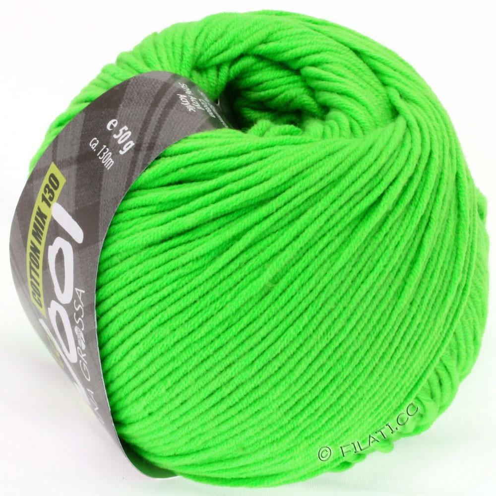 Lana Grossa COTTON MIX 130 (McWool) | 120-vert néon