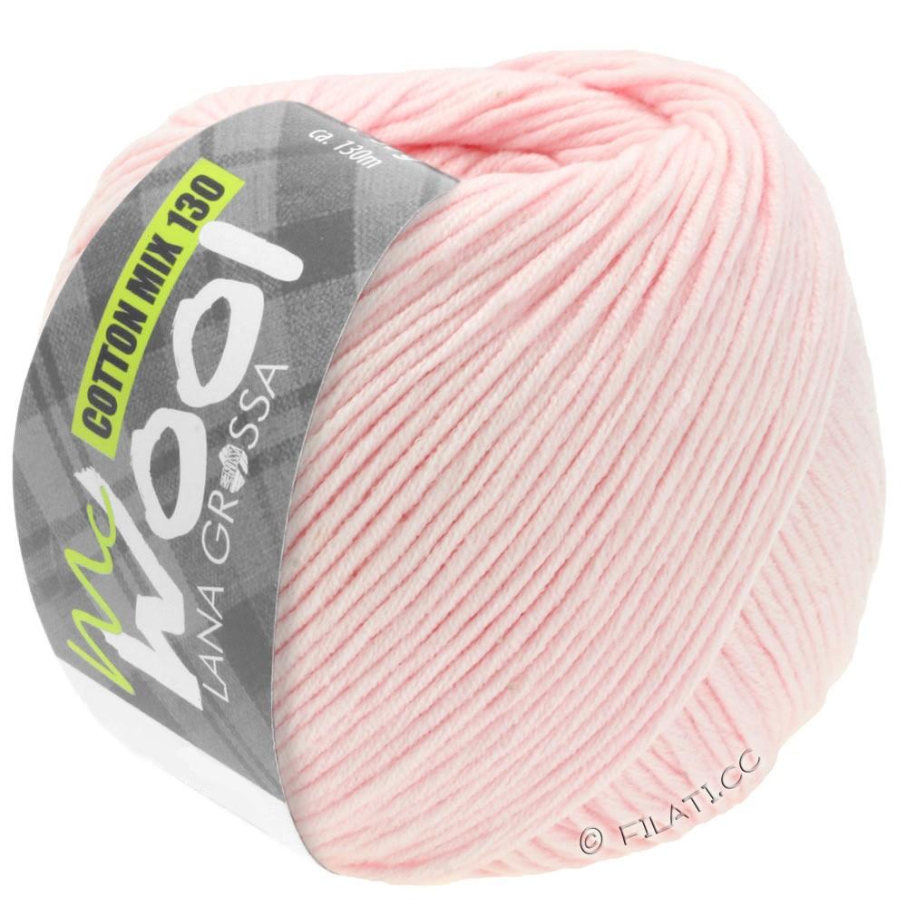 Lana Grossa COTTON MIX 130 (McWool) | 131-rose