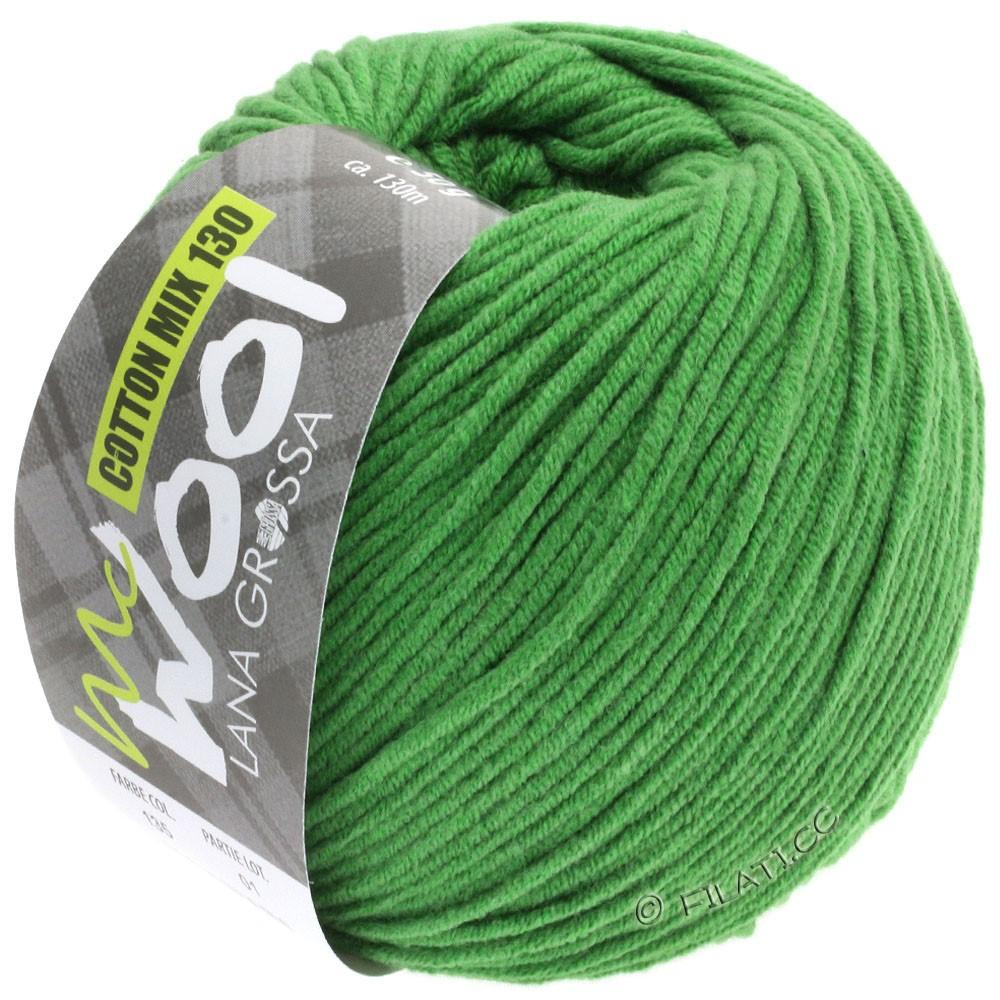 Lana Grossa COTTON MIX 130 (McWool) | 135-vert herbe