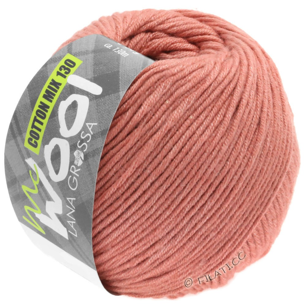 Lana Grossa COTTON MIX 130 (McWool) | 141-rouge cuivre
