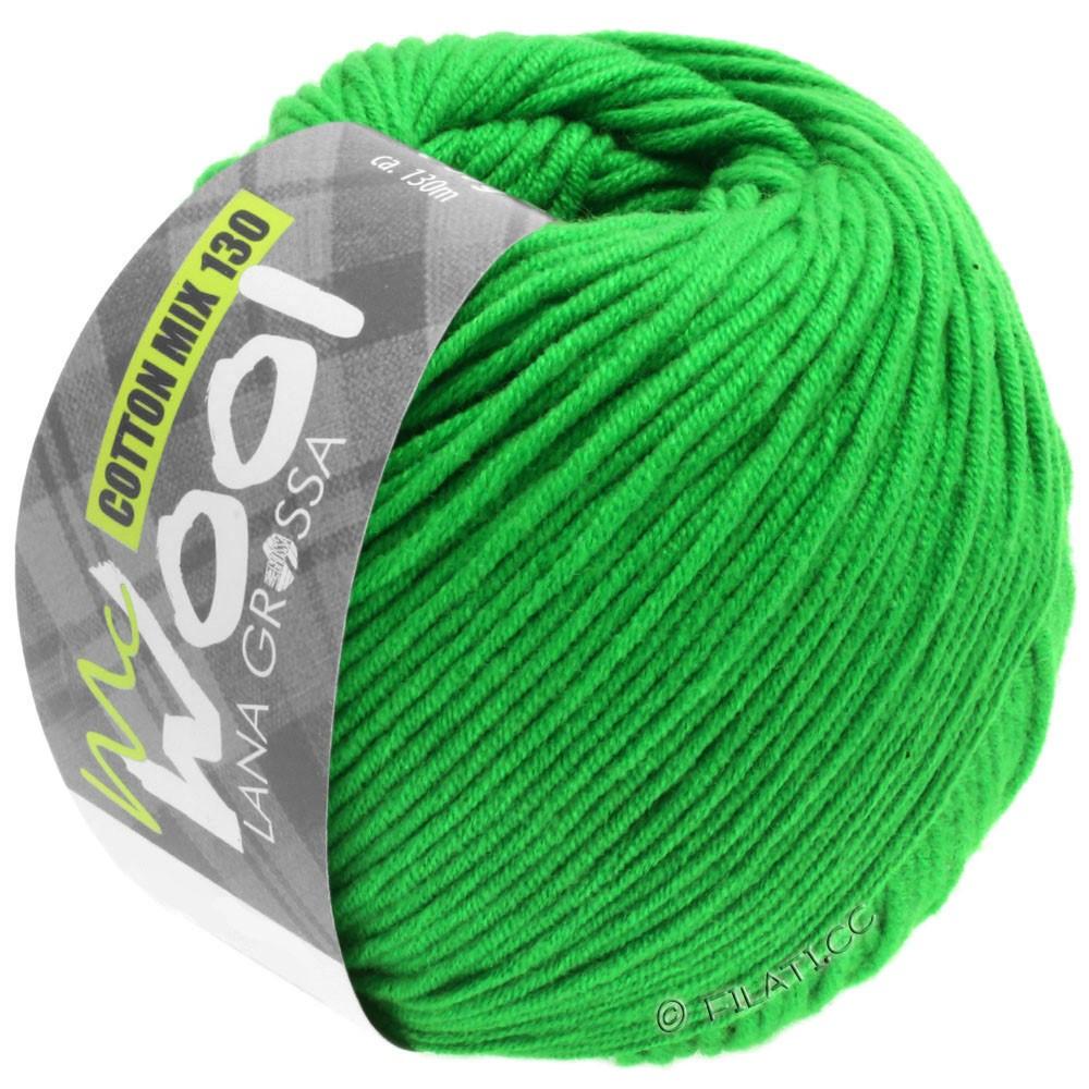Lana Grossa COTTON MIX 130 (McWool) | 143-vert mai