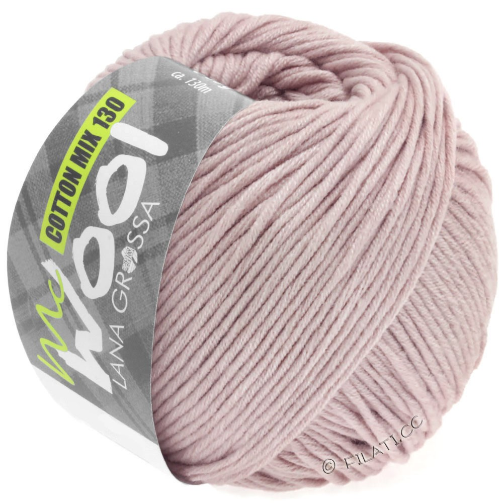 Lana Grossa COTTON MIX 130 (McWool) | 146-lilas tendre