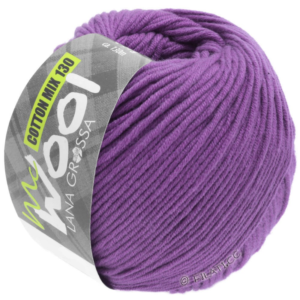 Lana Grossa COTTON MIX 130 (McWool) | 147-violet