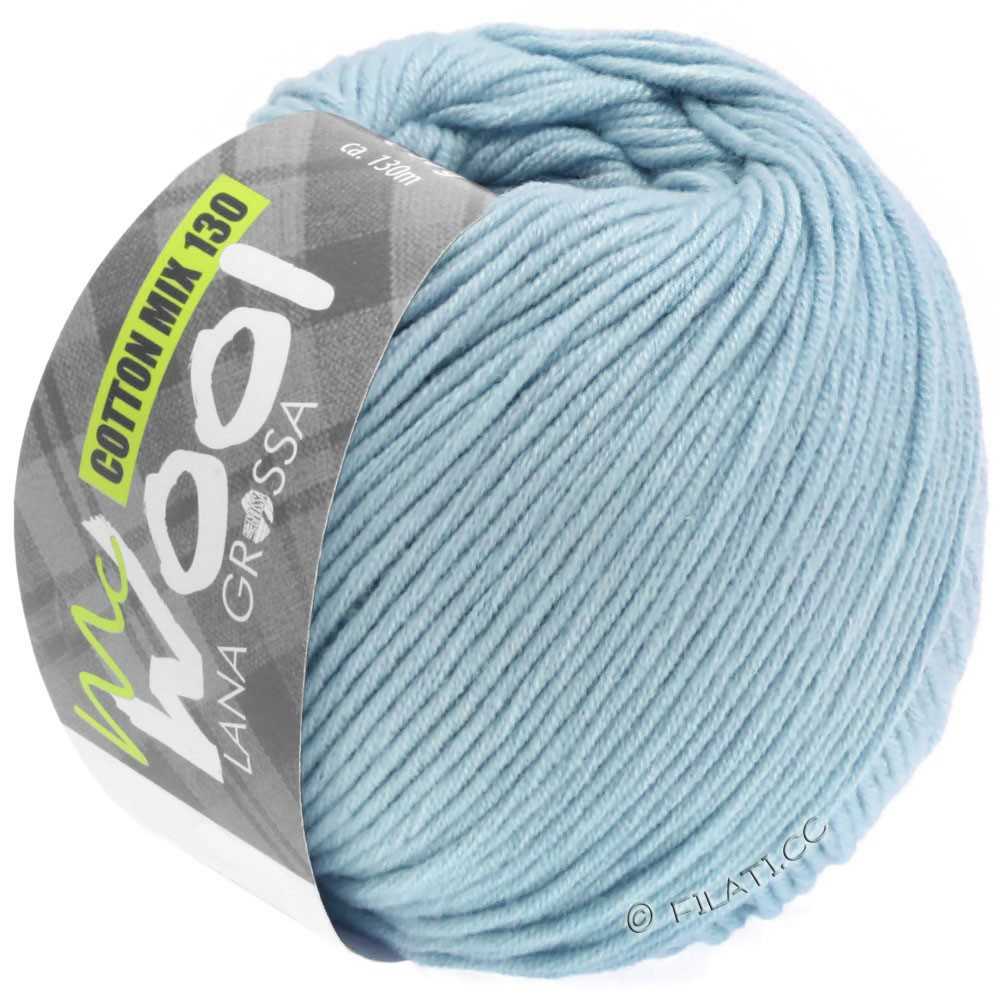 Lana Grossa COTTON MIX 130 (McWool) | 150-bleu clair