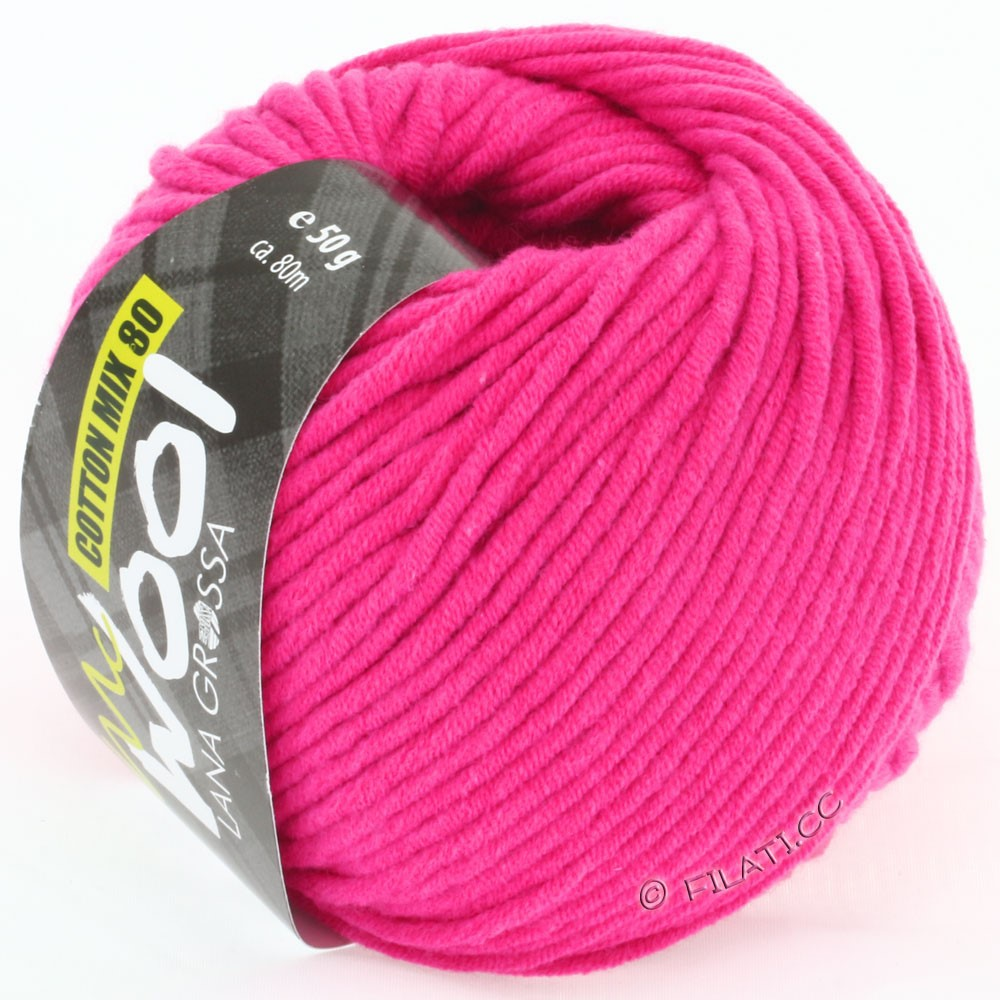 Lana Grossa COTTON MIX 80 (McWool) | 505-rose vif