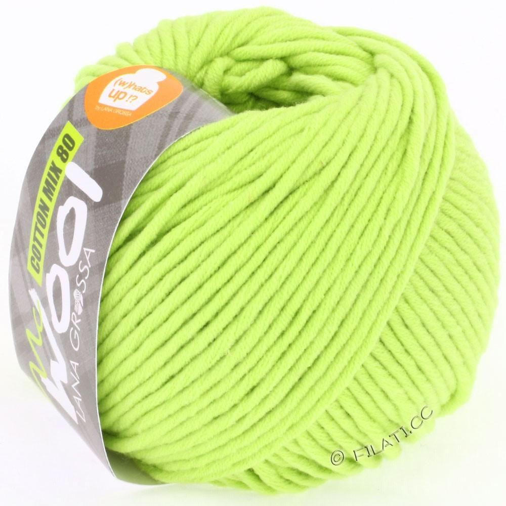 Lana Grossa COTTON MIX 80 (McWool) | 519-vert jaune