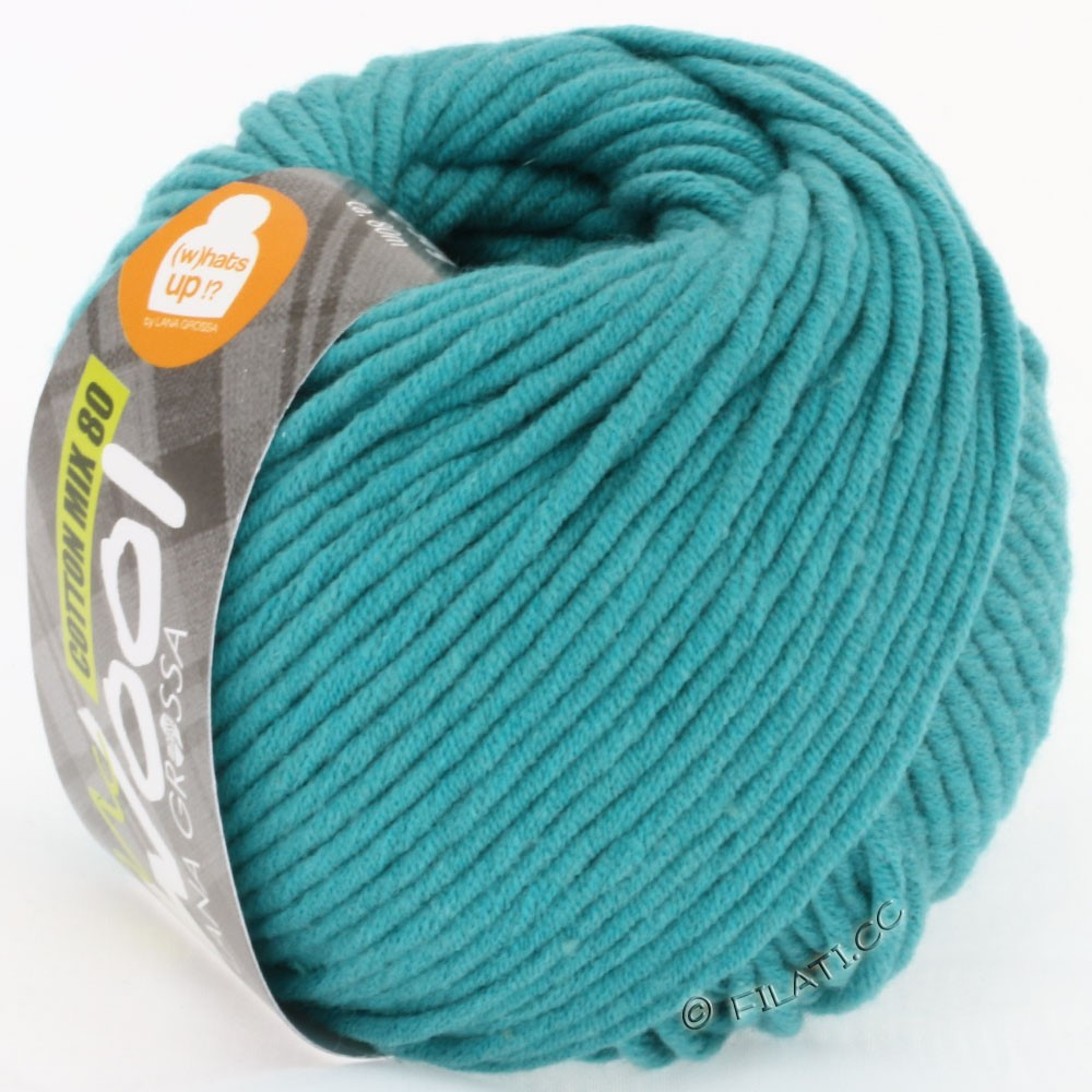 Lana Grossa COTTON MIX 80 (McWool) | 521-aigue marine