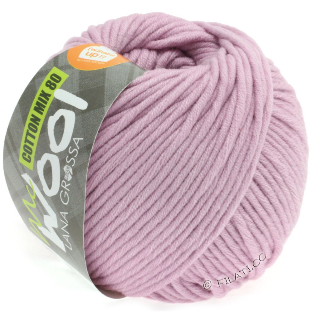 Lana Grossa COTTON MIX 80 (McWool) | 532-vieux rose