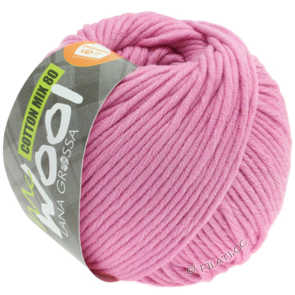 Lana Grossa COTTON MIX 80 (McWool) | 540-carnation