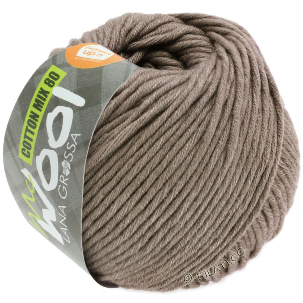 Lana Grossa COTTON MIX 80 (McWool) | 544-brun beige