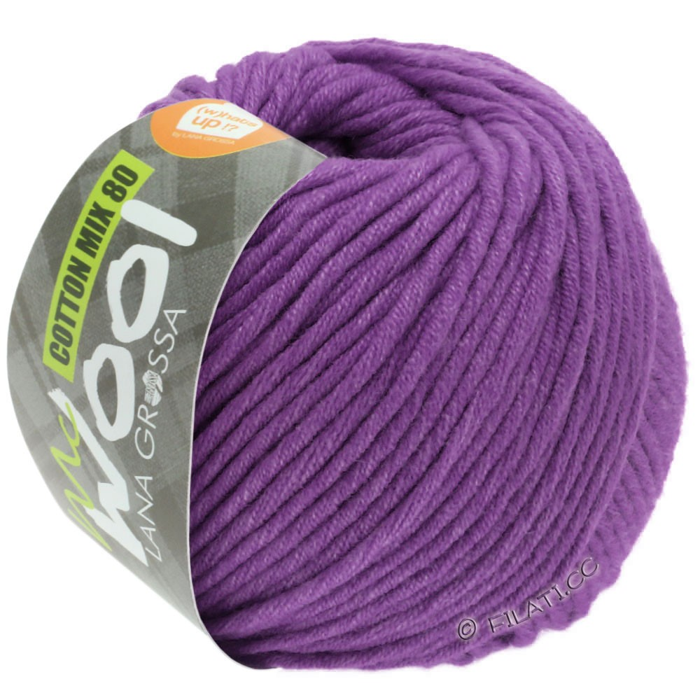 Lana Grossa COTTON MIX 80 (McWool) | 547-violet