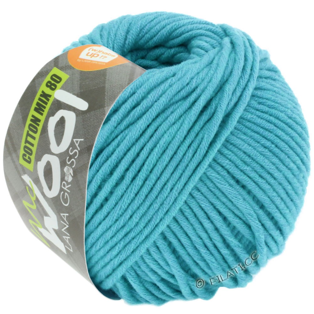 Lana Grossa COTTON MIX 80 (McWool) | 549-turquoise